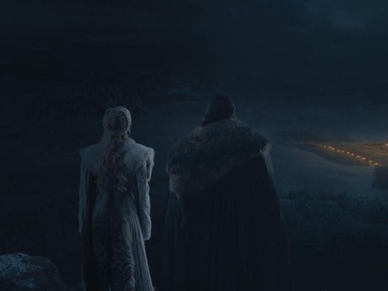 Reaksi Kit Harington dan Emilia Clarke saat Tahu Ending Game of Thrones