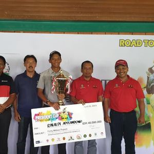 Seri Pertama President Cup 2019 Selesai, Rinaldi Adiyandono Pemenangnya