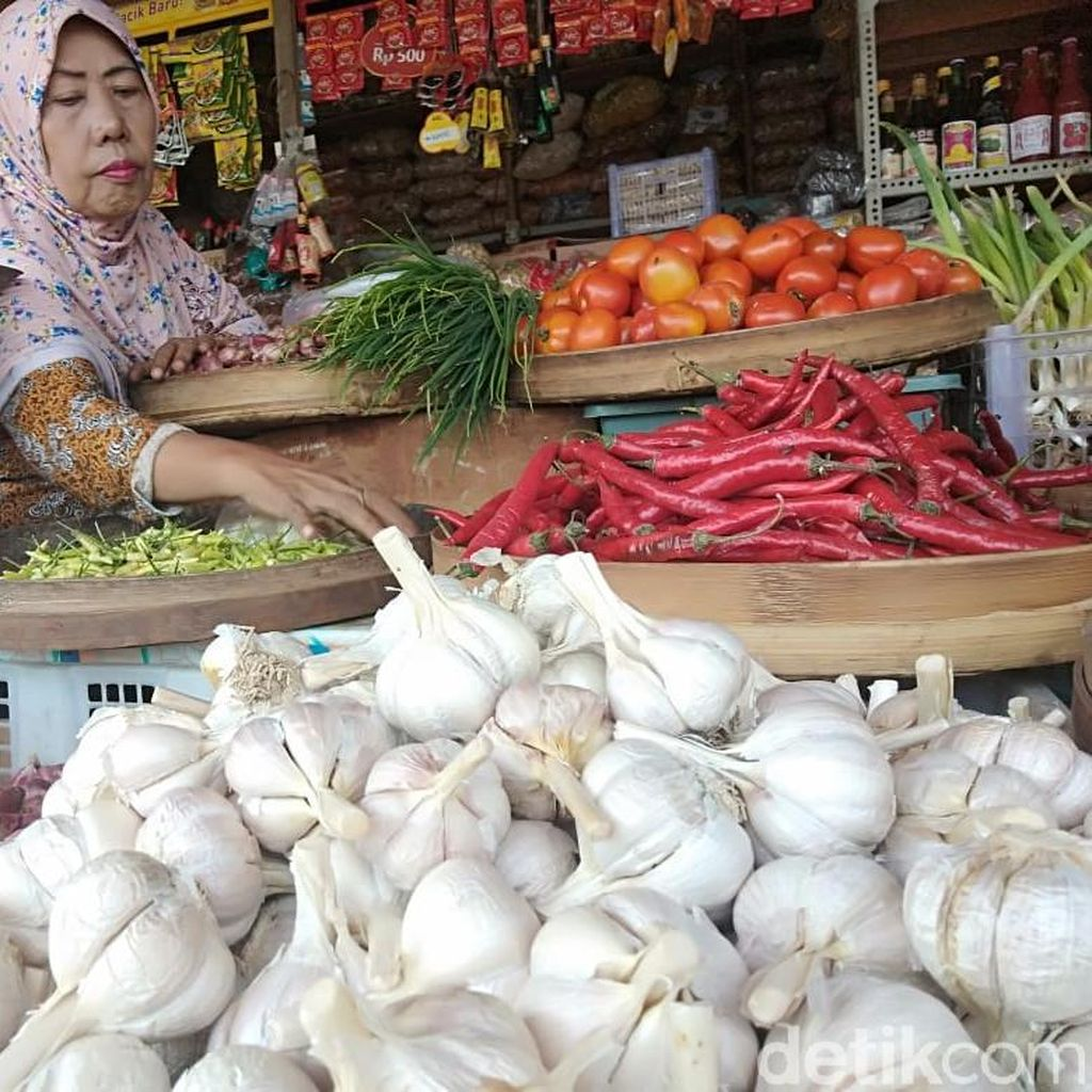 Harga Bawang dan Cabai di Pasar Sidoarjo Naik Jelang Ramadan