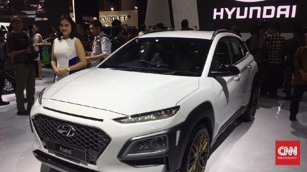 Hyundai Kona menantang Mazda CX-3 dan Honda HR-V 1.800 cc.