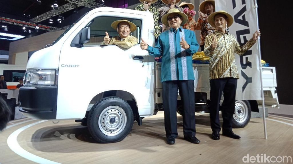 World Premiere, Suzuki Carry Model Baru BBM-nya Lebih Irit 15%