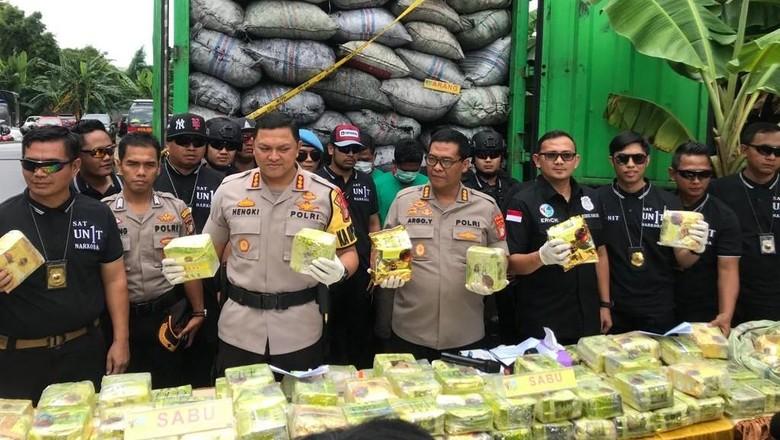 Dikirim dari Myanmar, 120 Kg Sabu dalam Truk Bernilai Rp 200 M