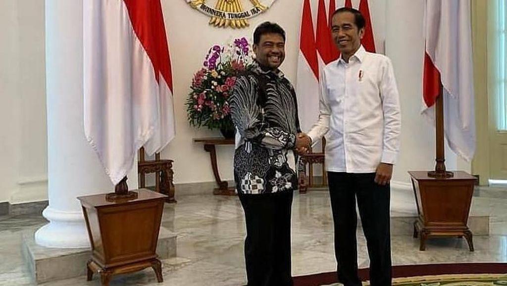 Bertemu Jokowi, Said Iqbal: Tidak Ada Kaitan Pilpres