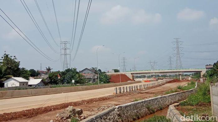 Foto: Kondisi Terkini Proyek Tol Desari (Herdi Alif Al Hikam)