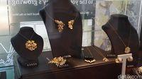 Perhiasan emas (Masaul/detikcom)