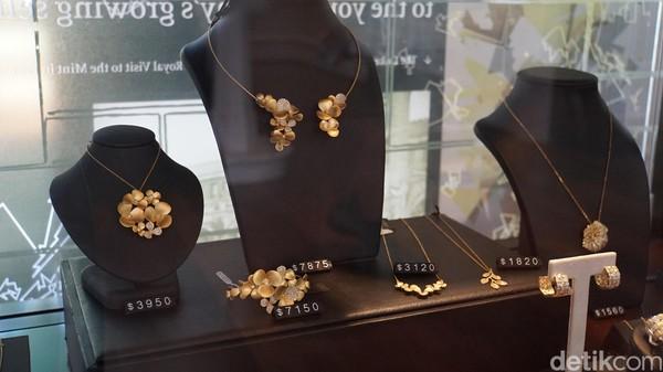 Di King Street ada banyak toko perhiasan emas dari Kalgoorlie di The Perth Mint, berlian pink dari Kimberley, mutiara dari Broome South Sea dan opal Australia (Masaul/detikcom)