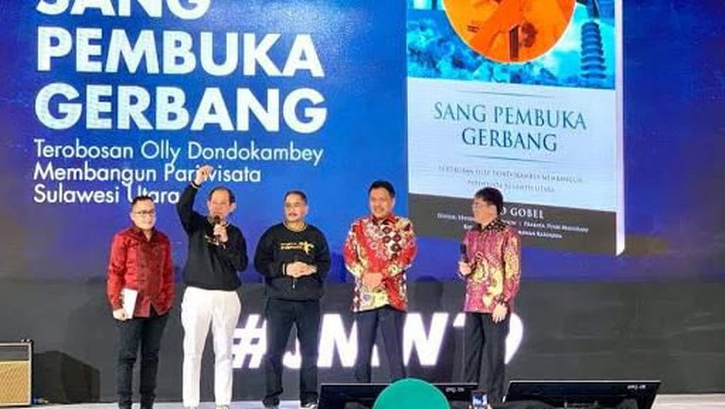 Sulut Raih Penghargaan The Rising Destinastion of The Year 2019