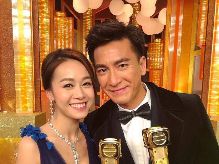 Jacqueline Wong dan Kenneth Ma. Foto: Weibo