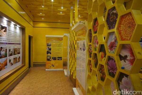 Ruangan pun dibuat menarik dan nyaman bagi pengunjung (Shinta/detikcom)