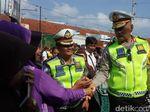 Korlantas Polri Pantau Potensi Pasar Tumpah di Jalur Utama Mudik