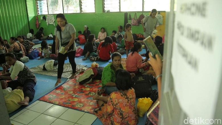 BPBD: Pengungsi Banjir di Jakarta Tinggal 26 Orang