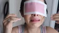 Viral Video Pria Tempel Plester Wax ke Alis Istri, Ini yang Terjadi