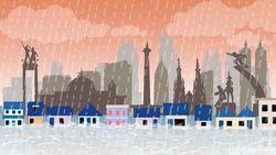 Prediksi Cuaca Ekstrem Bikin Waspada Banjir Bagi Jabar dan DKI