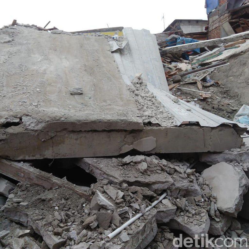 Korban Tewas Rumah Roboh di Tanah Tinggi Jakpus Jadi 3 Orang, 10 Luka-luka