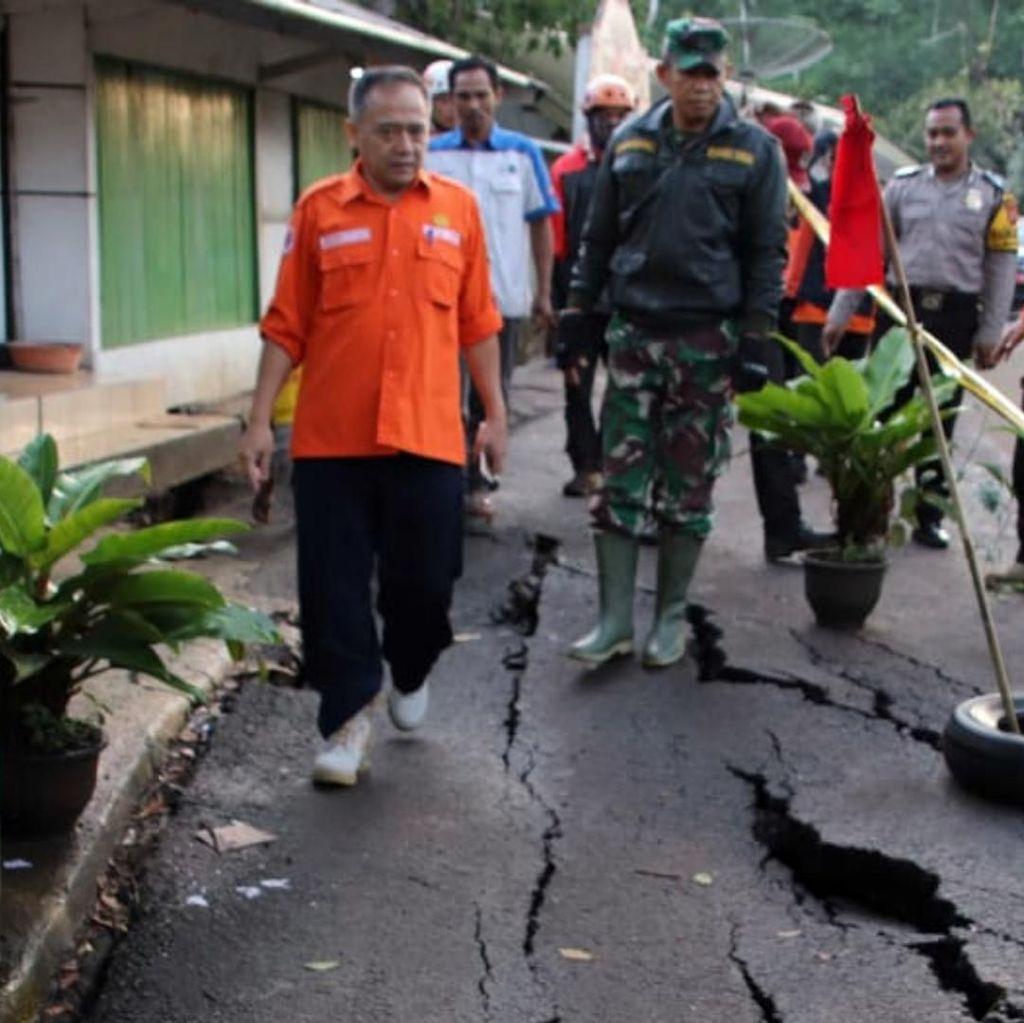 109 Rumah Warga Terdampak Pergerakan Tanah di Sukabumi
