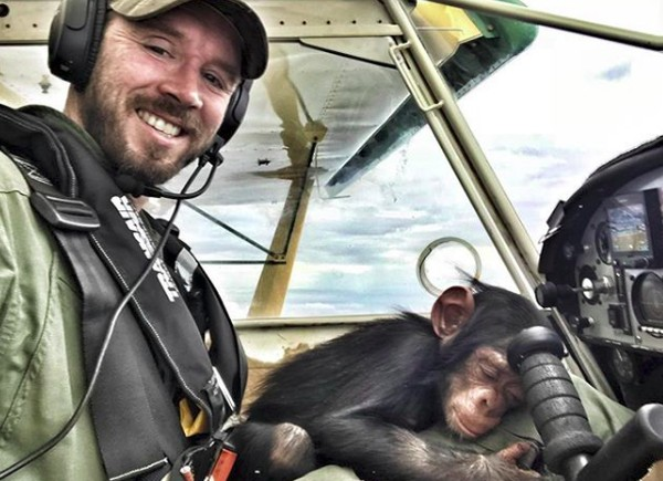 Sebagai pilot, tugas Anthony tidak hanya menerbangkan hewan untuk diselamatkan. Dia juga patroli untuk anti pemburuan liar, mengawasi sensus satwa liar, memeriksa lokasi perburuan liar dan melakukan evakuasi medis. (anthonycaere/Instagram)