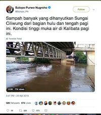 Komentari Banjir Jakarta, Ahok Ajak Bantu Para Korban