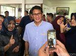 Jokowi Ketemu Zulkifli Hasan, Sandi Pilih Husnuzan