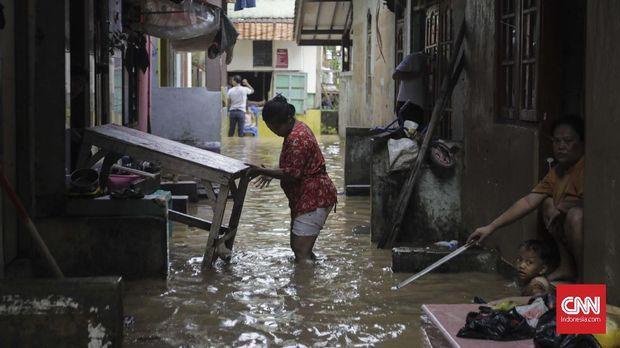 BPBD: Dua Warga Tewas Akibat Banjir di Jakarta