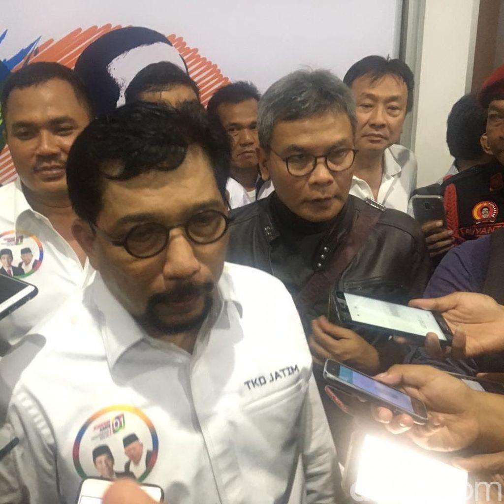 TKD Jatim Tanggapi Soal DPD Gerindra Tolak Tandatangani Hasil Pilpres