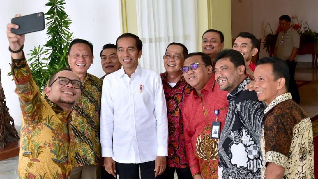 Said IqbalKasih Masukan ke Jokowi soal Upah Buruh