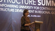 Bicara Industri 4.0 Sri Mulyani: Sekarang Bayi 2 Tahun Bisa Swipe