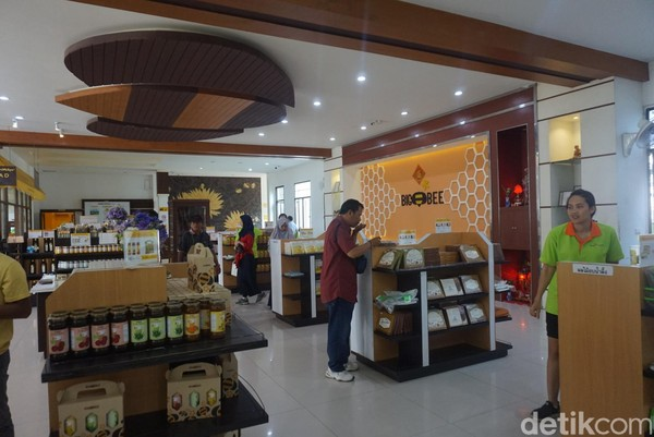 Peternakan madu jadi salah satu kunjungan wajib yang diharuskan pemerintah Thailand bagi para Turis yang datang melalui agen wisata (Shinta/detikcom)
