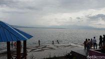 Foto: Seperti Ini Pantai di Danau Toba