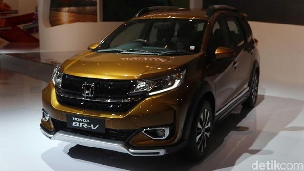 LSUV Honda, BR-V disegarkan terakhir kali dalam gelaran IIMS 2019