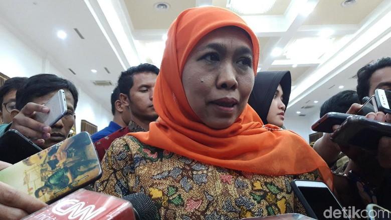Khofifah Enggan Beberkan Isi Pemeriksaan KPK Soal Suap Beli Jabatan
