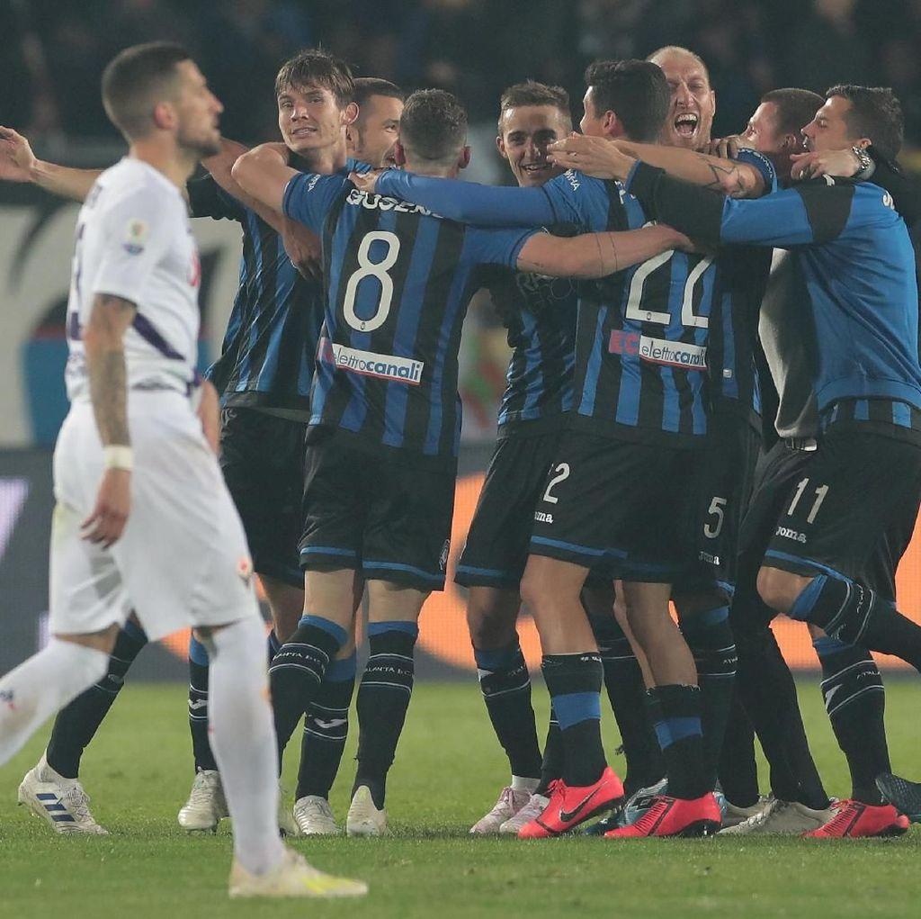 Hasil Coppa Italia: Kalahkan Fiorentina, Atalanta Jumpa Lazio di Final