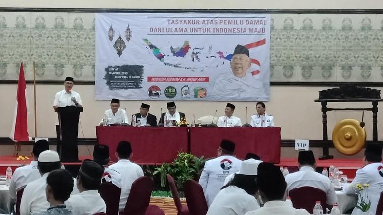 Relawan Maruf Amin Gelar Tasyakuran atas Keberhasilan Pemilu