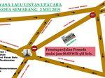 2 Mei, Jalan Pemuda Semarang Ditutup Sementara