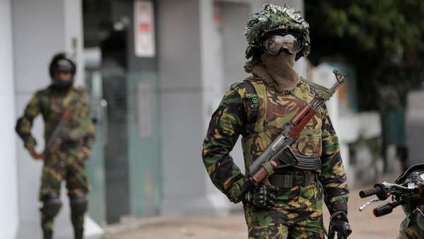 Sri Lanka Usir 600 Warga Asing Termasuk 200 Ulama Usai Bom Paskah