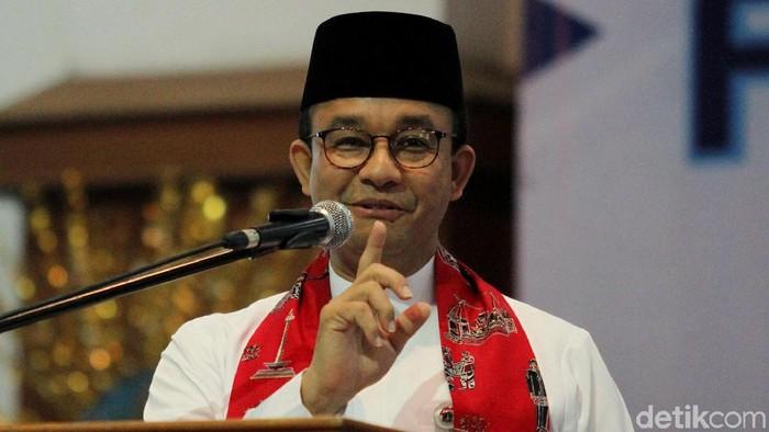 Gubernur DKI Jakarta Anies Baswedan (Rifkianto Nugroho/detikcom)