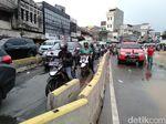 Sempat Ditutup karena Banjir, Jalan Jatinegara Barat Dibuka Lagi