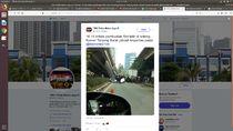 Ada Syuting Film di Kolong Flyover Tanjung Barat, Lalin Tak Terganggu