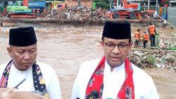 Anies Menangkal Banjir Jakarta
