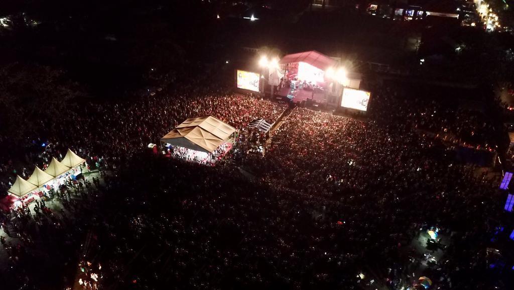 Konser Musik Malaka Happy Ending, Sukses Perkuat Wisata di Perbatasan