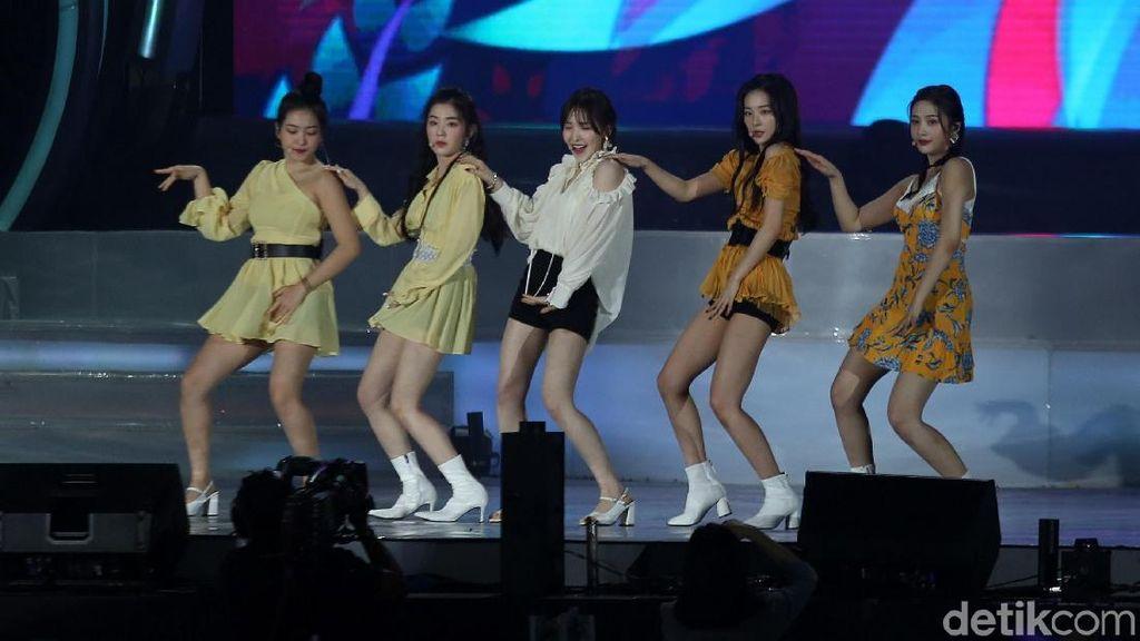 Ramaikan Konser, Red Velvet Sapa RedVeluv di Korean Wave 2019