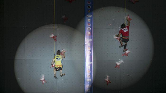 Panjat tebing terus mematangkan persiapan untuk Olimpiade 2020. (Foto: Antara Foto)