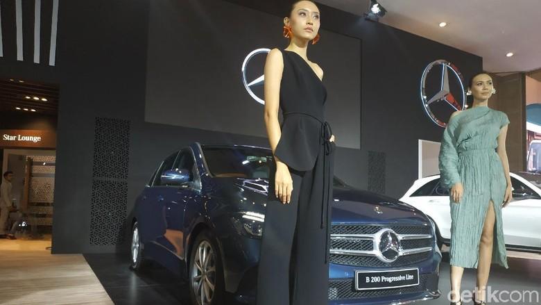 Mercedes-Benz B-Class Foto: Ridwan Arifin