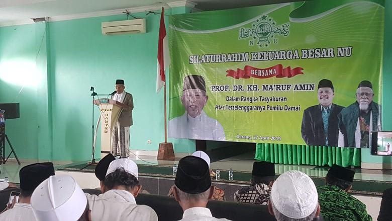 Maruf Beberkan 3 Penyebab Kalah di Banten Versi Quick Count