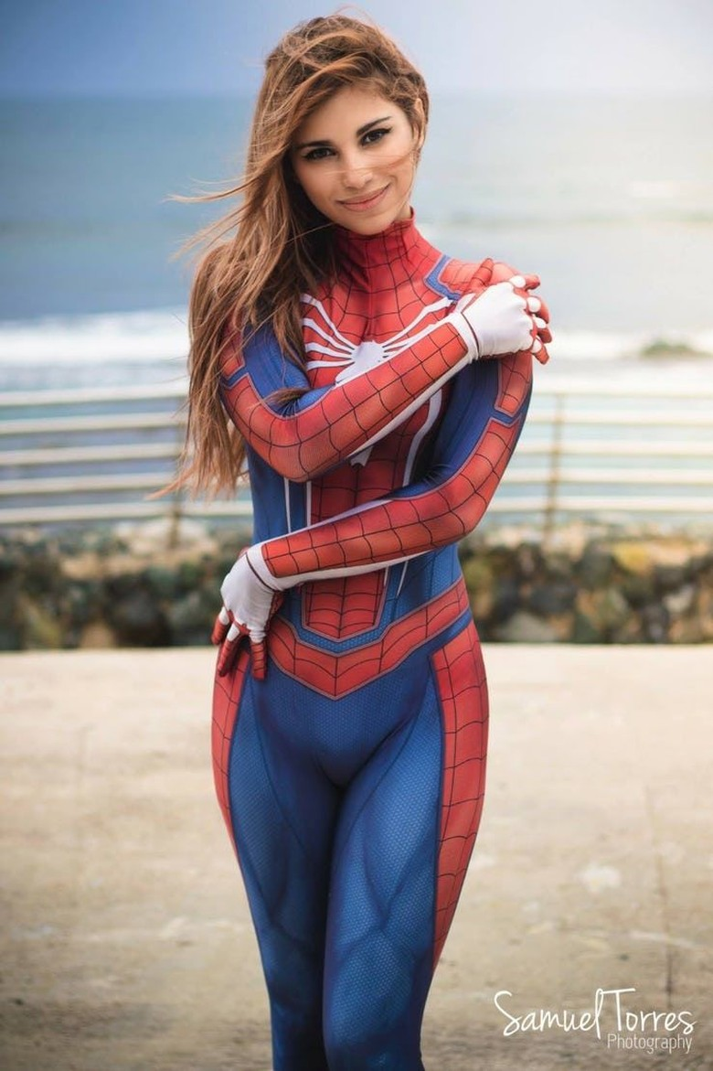 Spider Man, diperankan oleh cosplayer Melody karya fotografer Samuel Torres. (Foto: The Gamer)