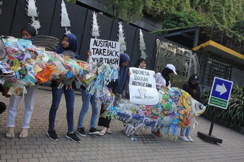 KLHK Belum Dapat Laporan soal Isu Penyelundupan Sampah Plastik Australia