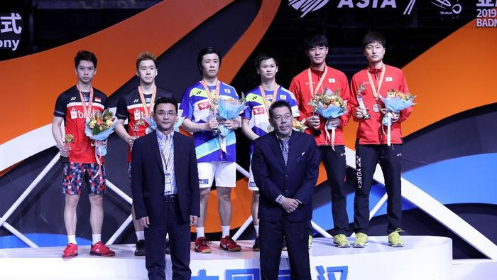 Kevin Sanjaya Sukamuljo/Marcus Fernaldo Gideon runner-up Kejuaraan Bulutangkis Asia 2019. (Dok. Humas PBSI)