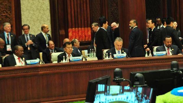 Di China, JK Curhat Soal Diskriminasi CPO RI oleh Eropa
