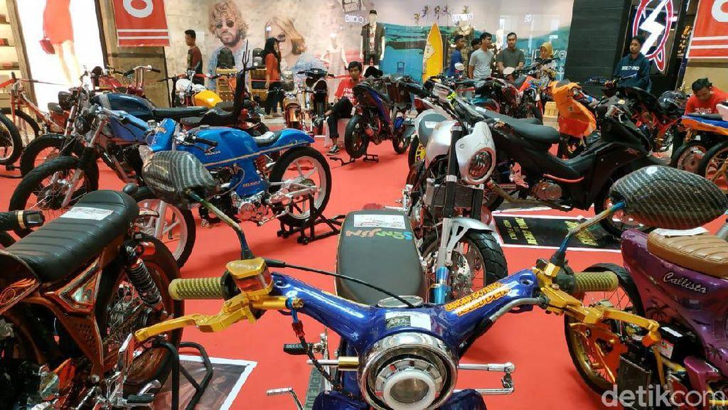 Ini Kampiun Modifikasi Motor Honda di Pekanbaru