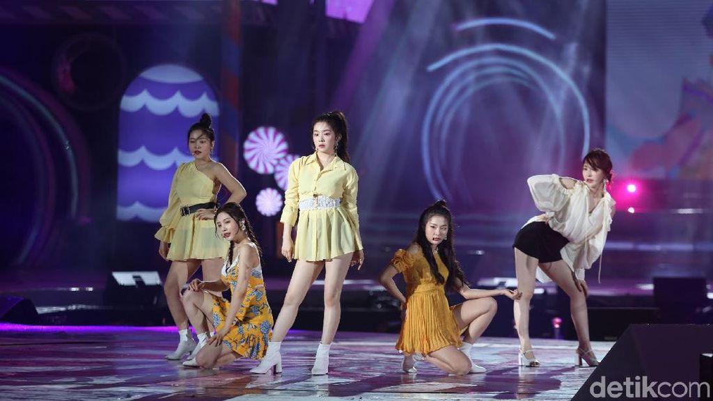 Ramaikan Korean Wave 2019, Ini Rahasia Tubuh Seksi Member Red Velvet