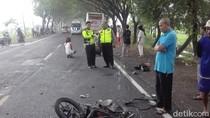Dua Remaja Pengendara Motor Tewas Tertabrak Bus Mira di Ngawi